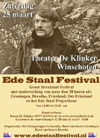 Evenement: Ede Staal Festival